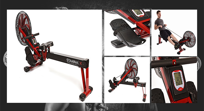 collapsible rowing machine