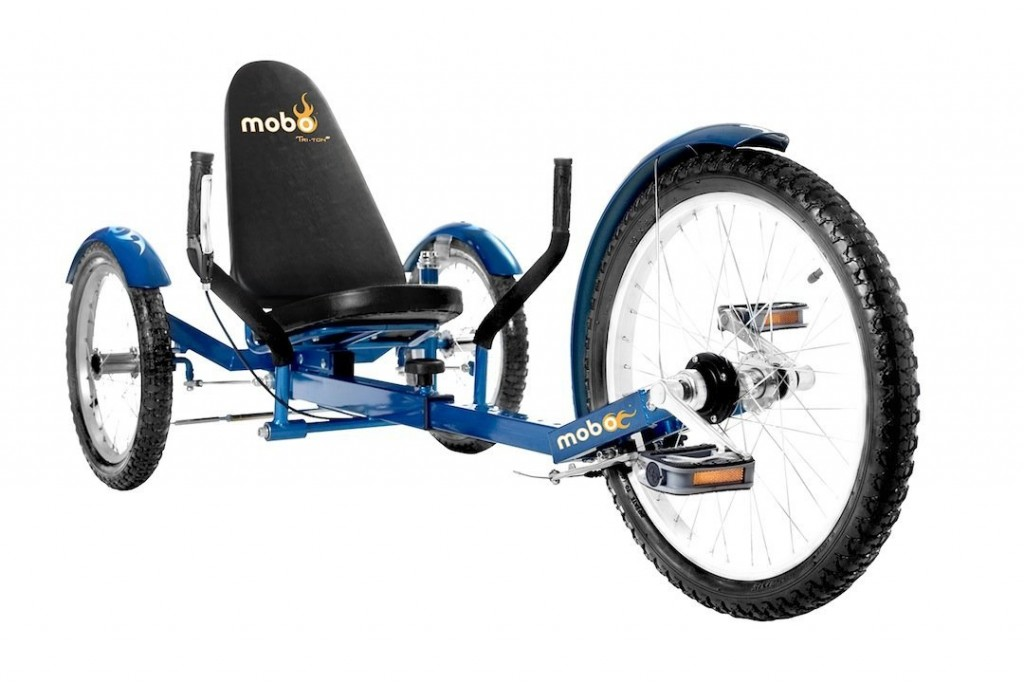 Valuable message 3 wheel recumbent style adult bike