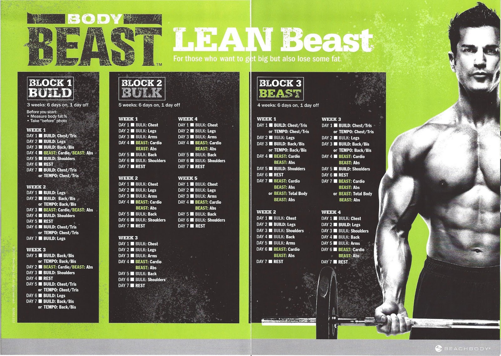 Body Beast Eating Plan Pdf