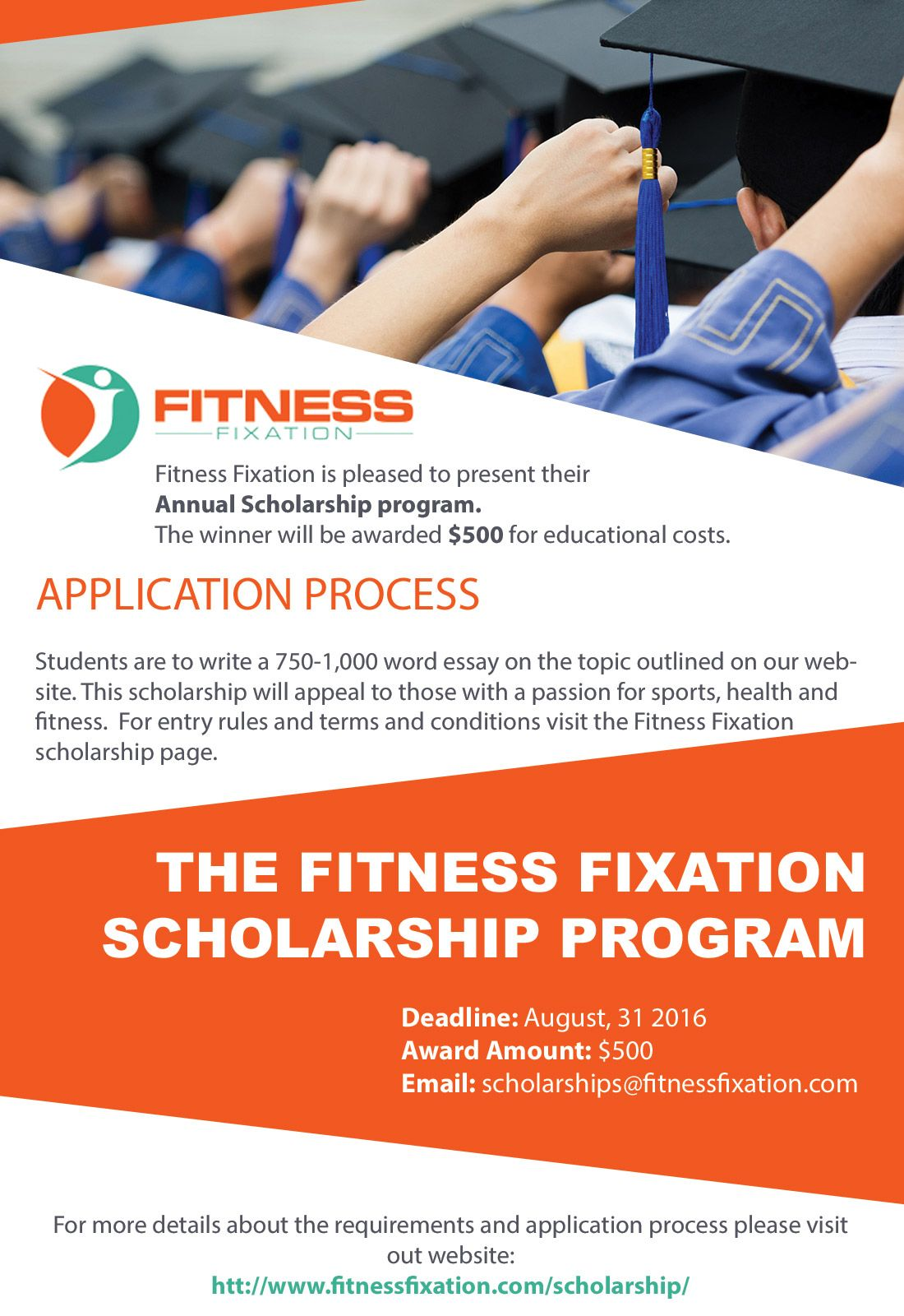 the fitness fixation yearly 500 scholarship fitness fixation